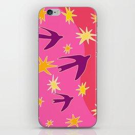 Night Birds Soar iPhone Skin