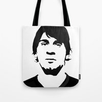 messi Tote Bags featuring messi by b & c