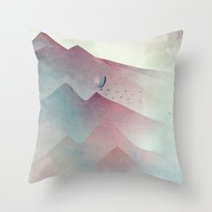 A Journey In My Dream Throw Pillow