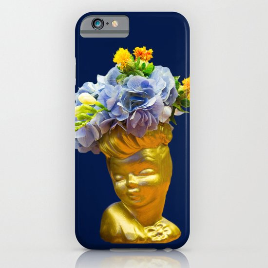 'Golden Girls' Floral Headvase iPhone & iPod Case