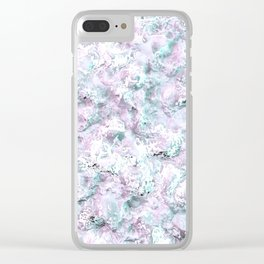 Sea / Ocean passion Clear iPhone Case