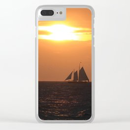 Gold Coast Clear iPhone Case