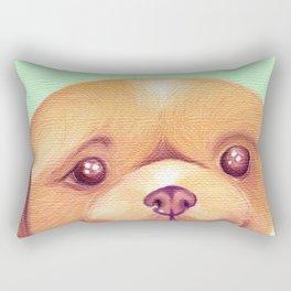 Bertha Bear Dog Rectangular Pillow