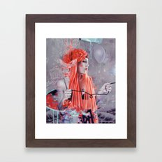 SPACE IS THE PLACE Framed Art Print