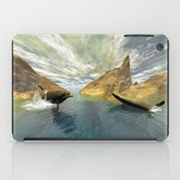 dolphins iPad Cases featuring Dolphins by nicky2342