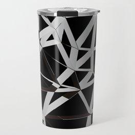 3D Futuristic GEO Lines V Travel Mug