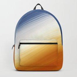 Navy, Light and Orange Backpack