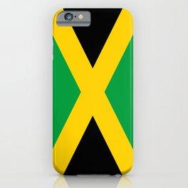 Jamaican flag, flag of Jamaica iPhone Case