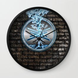 oculus Wall Clock