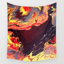 Burning Within Wall Tapestry