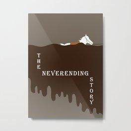 The Neverending Story  Metal Print