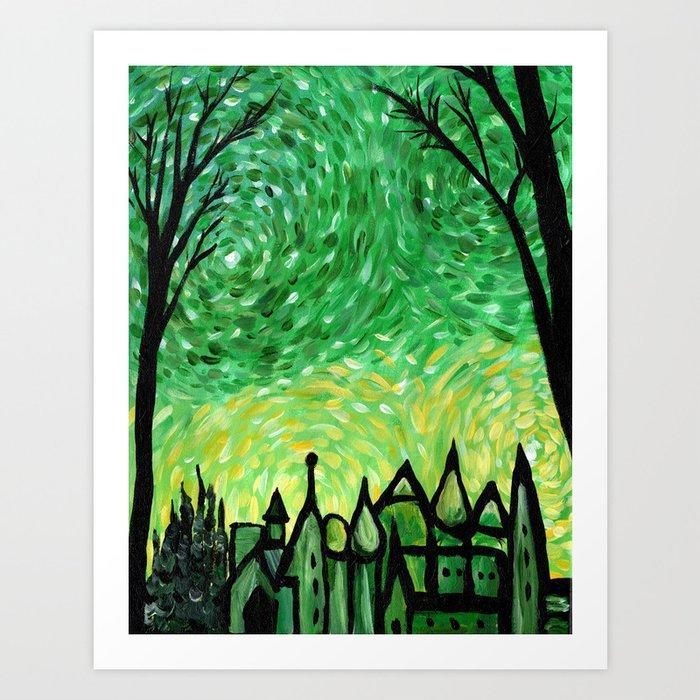 Emerald City Art Print