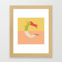 Pantless Project / CHARLIE Framed Art Print