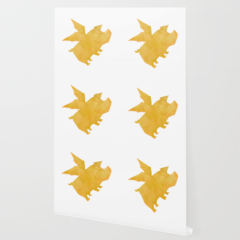 origami flying pig - Buscar con Google | 1500x1500