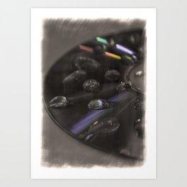 Retro Colour Art Print