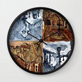 IGLESIA EN LA SERENA Wall Clock
