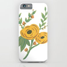 SPRING VINTAGE FLORAL Slim Case iPhone 6s