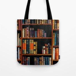 The Bookshelf (Color) Tote Bag