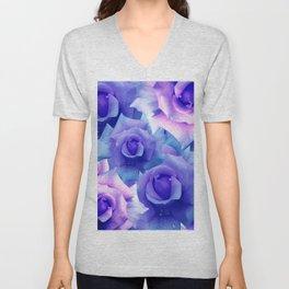 Bouquet de fleur Unisex V-Neck