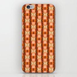Abstract Apple pattern modern design iPhone Skin