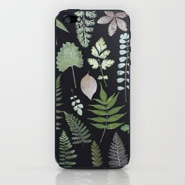 ferns + leaves iPhone Skin