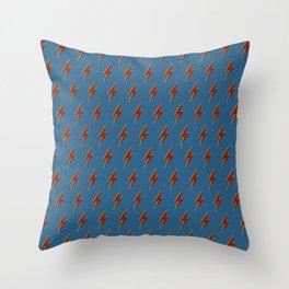 Colour Bolt I Throw Pillow