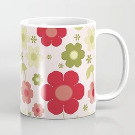Flowers: Carnaby Flowers Coffee Mug