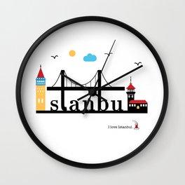 Istanbul. Wall Clock