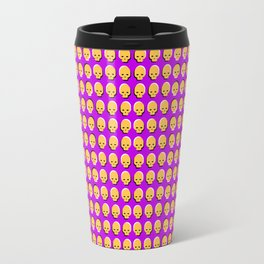 Skull Wave Travel Mug