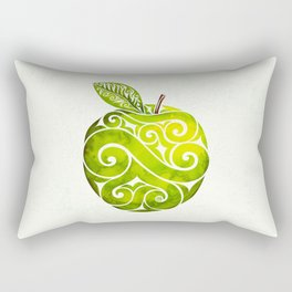 Swirly Apple Rectangular Pillow