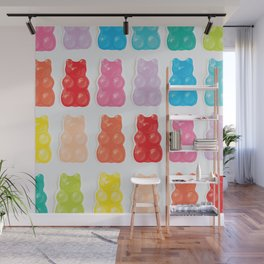 Gummy Bears Wall Mural