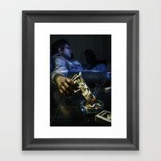 The Smoking Gun Framed Art Print