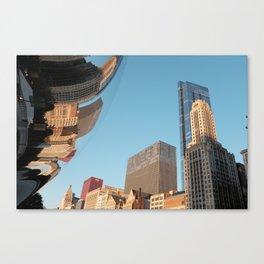 morphed skyline Canvas Print