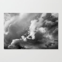 Storm Clouds Photography | Skyscape | Waterton Canvas Print