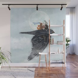 the light bird Wall Mural