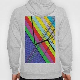 Diagonal Color Hoody