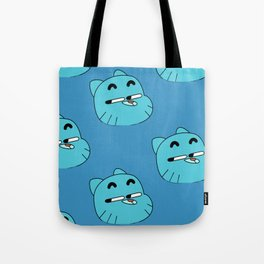 Gumball Faces Tote Bag