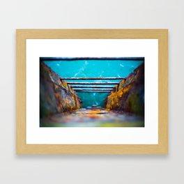 Rainbow Rust Framed Art Print