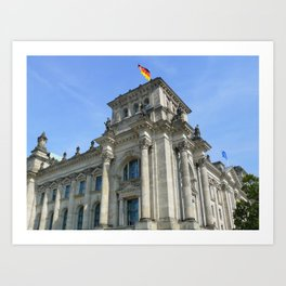 Reichstag, Berlin, Germany Art Print