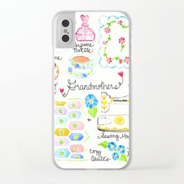 Grandmothers Clear iPhone Case