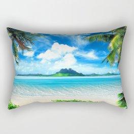 Island Festy Rectangular Pillow