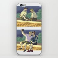 stucky iPhone & iPod Skins featuring stucky fourth of july 1 by maria euphemia