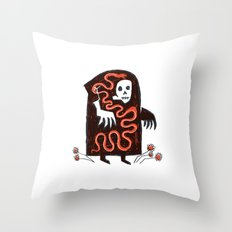 The Effects of Capitalism on Creation Throw Pillow