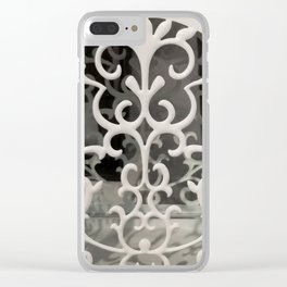 Scrollwork Clear iPhone Case