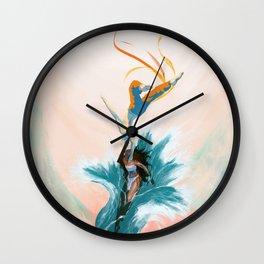 Katara and Aang Wall Clock