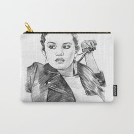 Sel Gomez - Pencil Art Carry-All Pouch
