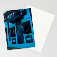 BLUE IN THE HOUSE Stationery Cards