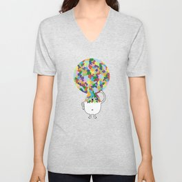 Dripping Unisex V-Neck