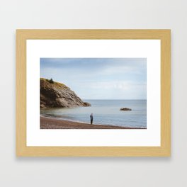 Meat Cove, NS Framed Art Print