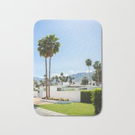 put the palm in palm springs Bath Mat